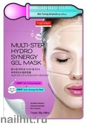 181054 Purederm Система ухода многоступенчатая (ампула для подготовки кожи+ маска)