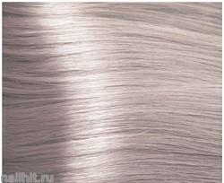 10.02 Kapous Hyaluronic acid Крем-краска для волос 100мл Платиновый блондин прозрачный фиолетовый