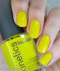 366 Kinetics SolarGel Marry me Lemon Лак гелевый для ногтей 15мл (Стойкий, БЕЗ уф-лампы)