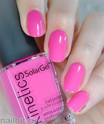 370 Kinetics SolarGel Pink Drink Лак гелевый для ногтей 15мл (Стойкий, БЕЗ уф-лампы)