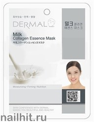 850712 Dermal 037 Маска для лица Коллаген+ Молочный белок 1шт увлажнение