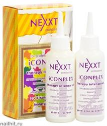 8305 NEXXT 211712 Профессиональное восстановление волос ICONPLEX Therapy  2+1 в коробке 125+125мл