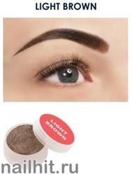 10583 Henna Expert Light Brown Хна для бровей 3гр Светло-коричневая HP000010