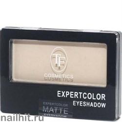 03122 Триумф TF Тени для век одноцветные Expertcolor Eyeshadow MONO 101 матовый светло-бежевый