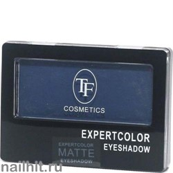 05010 Триумф TF Тени для век одноцветные Expertcolor Eyeshadow MONO 102 темно-синий