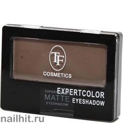 05058 Триумф TF Тени для век одноцветные Expertcolor Eyeshadow MONO 106 матовый бежево-коричневый