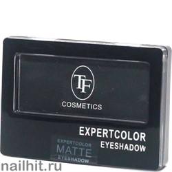 05089 Триумф TF Тени для век одноцветные Expertcolor Eyeshadow MONO 109 матовый черный