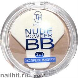 02859 Триумф TF Пудра для лица Nude BB Powder 02 бежевый