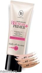 """06284 Триумф TF Крем тон. и основа под макияж увлажн. """"professional BB Cream+ Primer 01 светло-бежевый"""