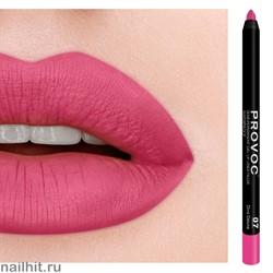 № 07 Provoc Гелевый карандаш для губ (матовый, ягодно- розовый, холодный)