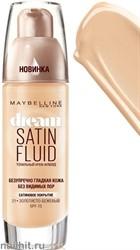 Maybelline Тональный крем DREAM SATIN FLUID тон 21 золотисто- бежевый