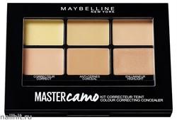 """Maybelline Палетка консилеров для макияжа лица """"Master Camo"""", тон 02 тёмный"""