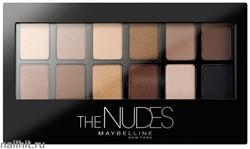 Maybelline Палетка теней для век Nudes тон 01 натуральные оттенки 12 цветов