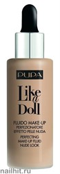 "Pupa  050036 040  Тональный крем ""Like a Doll Make Up Fluid Nude Look"" тон 40 Средний бежевый"