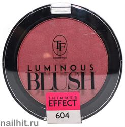 93049 Триумф TF Румяна для лица Luminous BLUSH, тон 604 розовый яркий