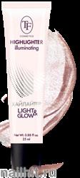 07724 Триумф TF Хайлайтер для лица LIGHT&GLOW 25мл для сияния кожи