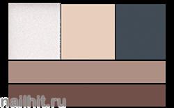 07618 Триумф TF Палетка теней №1 контурирующая для глаз и бровей хайлайтер+ 4матовых универ. оттенка