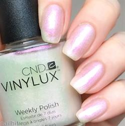 262 Vinylux CND Лак для ногтей Ice Bar 15мл Жемчужный, с розовыми микроблестками, полупрозрачный