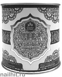 12098 Grand Xenna Хна натуральная для бровей и биотату ГРАФИТ 15гр+ кокосовое масло