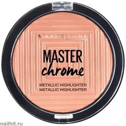 "Maybelline Пудра- хайлайтер для лица ""Master Chrome"" тон 050"