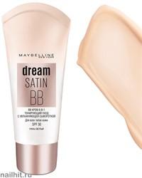 Maybelline Тональный крем  Dream Fresh BB Cream 8in1, тон очень светлый