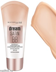 Maybelline Тональный крем  Dream Fresh BB Cream 8in1, тон натурально-бежевый
