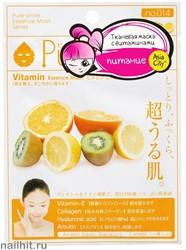 000174 SunSmile Essence Маска тканевая для лица питательная с Витаминным комплексом 1шт