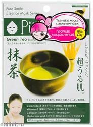 042174 SunSmile Essence Маска тканевая для лица успокаивающая с экстрактом Зеленого чая 1шт