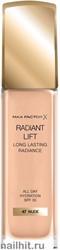 Max Factor Radiant Lift Foundation 30мл Тональная основа для лица, тон 47 Nude