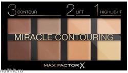 "Max Factor Палетка для контуринга лица из 8 оттенков ""Miracle Contouring "" тон 10 universal"