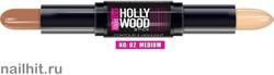 039959 Alvin D'or HC-02 Карандаш- контур для лица HD Hollywood, тон 02 medium