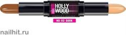 039966 Alvin D'or HC-02 Карандаш- контур для лица HD Hollywood, тон 03 dark