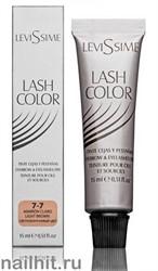 4506 LeviSsime Краска для бровей и ресниц 15мл Светло- коричневая № 7-7