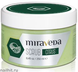 12135 Ital Wax/ White Line Скраб Miraveda Цитрус 250мл