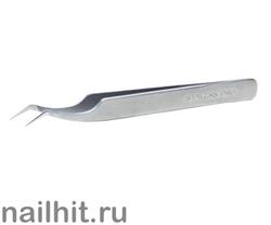 12728 Сталекс Пинцет TE-41/7 EXPERT 41 TYPE 7 (изогнут под углом 30)