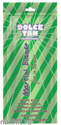 "13684 Dolce Tan Крем для загара 15мл 1005 DT ""Martini Bianco"" с маслом кедра, оливок, маслом кокоса, 4 бронзаторами (для загара в солярии)"