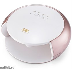 13964 SML S3 Лампа для ногтей LED/UV (48Вт, 33 светодиода LG) Rose gold white cover