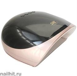 13967 SML S6 Лампа для ногтей LED/UV (68Вт, 39 светодиодов LG) Rose gold base black cover