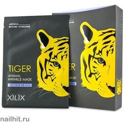 """854536 Dermal Маска для лица коллагеновая, разглаживание морщин """"Tiger Animal"""" 25гр"""