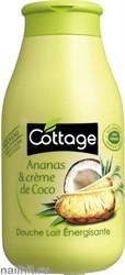 952980 Cottage Гель для душа Бодрящий 250мл Ананас+ Кокос
