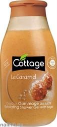 052832 Cottage Гель для душа Отшелушивающий 250мл Сладкая Карамель
