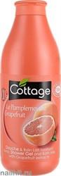 055154 Cottage Гель для душа+ Пена для ванн Тонизирующий 750мл Грейпфрут