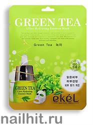 13746 Ekel Маска тканевая 8754 с экстрактом зеленого чая 25гр