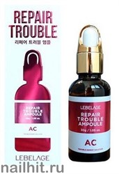 14271 Lebelage Ампульная сыворотка 4503 для проблемной кожи TROUBLE AC 30мл
