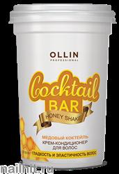 390299 Ollin Honey Cocktail 500мл Крем- кондиционер для волос Медовый коктейль
