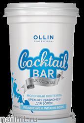 390305 Ollin Milk Cocktail 500мл Крем-кондиционер для волос Молочный коктейль