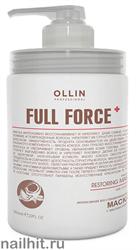 725775 Ollin Full Force 650мл Интенсивная восстанавливающая маска для волос с маслом кокоса