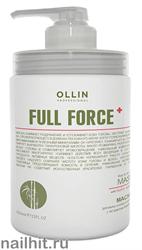 725621 Ollin Full Force 650мл Маска для волос и кожи головы с экстрактом бамбука