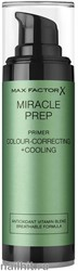 Max Factor Праймер для лица Miracle Prep Colour+ Correcting+ Cooling 30мл, зелёный