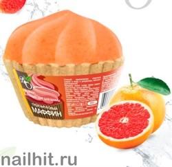 231731 Bliss Organic Шар бурлящий для ванн маффин Грейпфрутовый 130гр